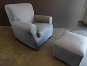 Sessel mit Hocker Nonnamaria